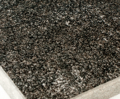 Zimbabwe Black Granite Antiqued