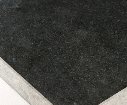 Zimbabwe Black Granite Honed