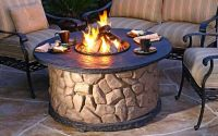 Get ready for summer with an outdoor fire pit
