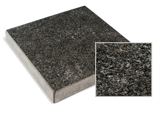 Antiqued Black Granite