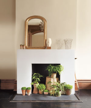summer fireplace ideas